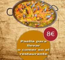 Paellas por encargo from Bar y Automaticos Moncadas