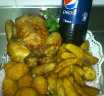 .oferta menu pollo al ast from RO-NA  Roast Chicken