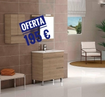 MUEBLE  BAÑO  COLOR  CABRIAN   DE  80    CON  ESPEJO  INCLUIDO from Toni Llull Construction Materials