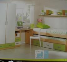 Dormitorio Juvenil de Muebles Perez